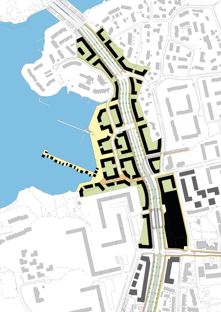 Hahmotelma Laajasalon kaupunkibulevardin ympäristön rakennuspotentiaalista