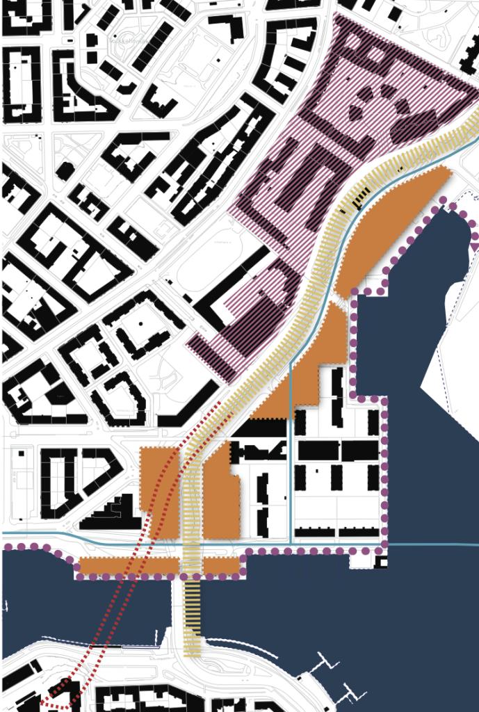 Täydennysrakentamista tutkitaan Sörnäisten rantatien varteen ja Hakaniemenrantaan