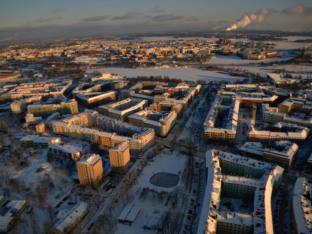 Töölö_from_air