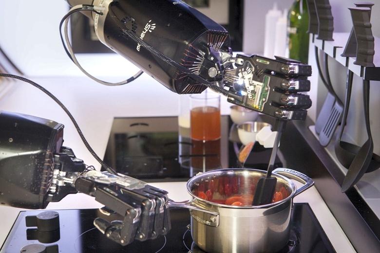 Robot-kitchen